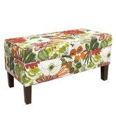 Upholstered Polyurethane Lilith Storage Bench