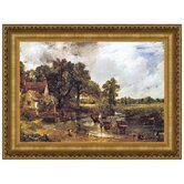 The Hay Wain, 1821 by John Constable Framed Painting Print