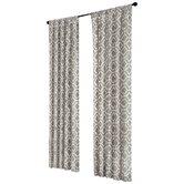 Delray Diamond Rod Pocket Curtain Panel
