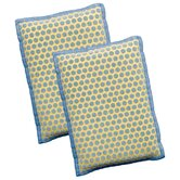 2-in-1 Scrubbing Bubbles Kitchen and Dish Sponge (Set of 2)