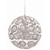Dandelion 6 Light Globe Pendant