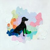 Dog Painting Print on Canvas