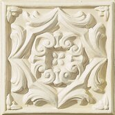 "Cape Cod 6"" x 6"" Park Accent Tile in Ivory Matte"