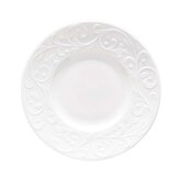 """Opal Innocence Carved 6.5"""" Party Plate (Set of 4)"""
