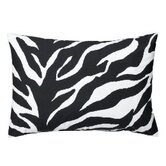 Zebra Oblong Lumbar Pillow