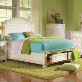 Placid Cove Low Storage Panel Bed