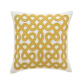 Labyrinth Citrine Pillow