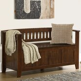 Acadian Two Seat Bench with Storage