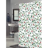 Carnation Home Fashions Shower Curtain Carnation Home Fashions Shower