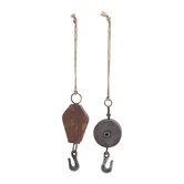 2 Piece Metal Hook Set