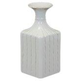 Ceramic Flower Pot Gloss White