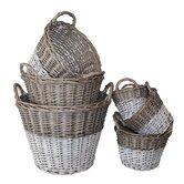 Swedish 6 Piece Utility Basket Set