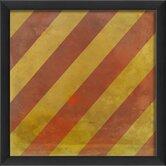 Signal Flag Y Framed Graphic Art
