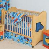 Boys Like Trucks Convertible Crib