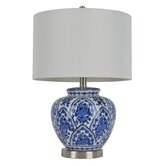"""20"""" H Table Lamp with Drum Shade"""