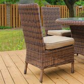 South Sea Rattan Patio Dining Chairs