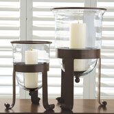 Simple Grande Hurricane Candle Holder