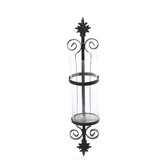 Noble Flair Wall Sconce Candle Holder