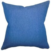 Zhoie Solid Cotton Throw Pillow
