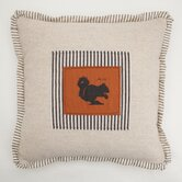 Small Squirrel Down Throw Pillow