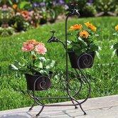Evergreen Flag & Garden Planters