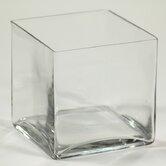 Sqaure Glass Vase