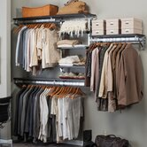 Arrange a Space Best Closet Shelving System I