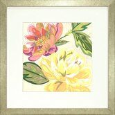 Floral Living Modern Chintz 2 Framed Graphic Art