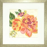 Floral Living Modern Chintz 3 Framed Graphic Art