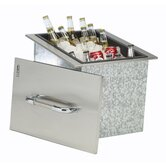 Stainless Steel Drop-In Ice Chest Cooler