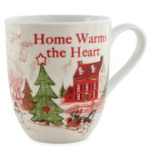 Home Warms The Heart Mug (Set of 2)