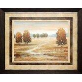 Linen Landscape I by Nan Framed Painting Print