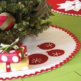 North Pole Tinsel Town Mini Tree Skirt