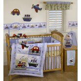 Travel Time Crib Bedding Collection