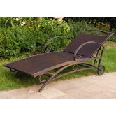International Caravan Patio Chaise Lounges