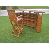 International Caravan Patio Bar Sets