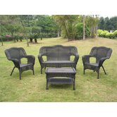 International Caravan Patio Lounge Chairs