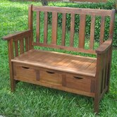 International Caravan Patio Benches