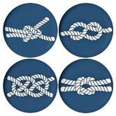 Scrimshaw Coaster (Set of 4)