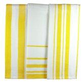MUincotton Dish Towel in Lemon Stripe