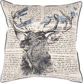 Chic Deer  Throw Pillow
