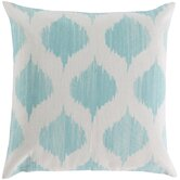 Exquisite in Ikat Cotton Throw Pillow