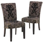 Urbanity Montecito Parsons Chair (Set of 2)
