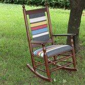 Woolrich Blanket Furniture Rocking Chair