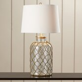 """Belvidere 30"""""""" H Table Lamp with Drum Shade"""