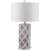 """Nantucket 27"""" H Table Lamp with Drum Shade (Set of 2)"""