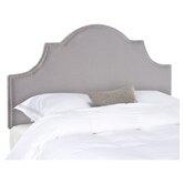 Hallmar Arched Upholstered Headboard