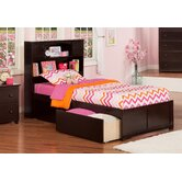 Urban Lifestyle Newport Bookcase Bed with Storage