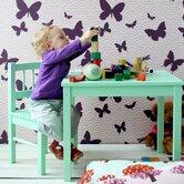 Butterflies Kids Wallpaper