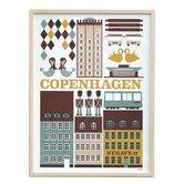 Copenhagen Unframed Vintage Advertisement